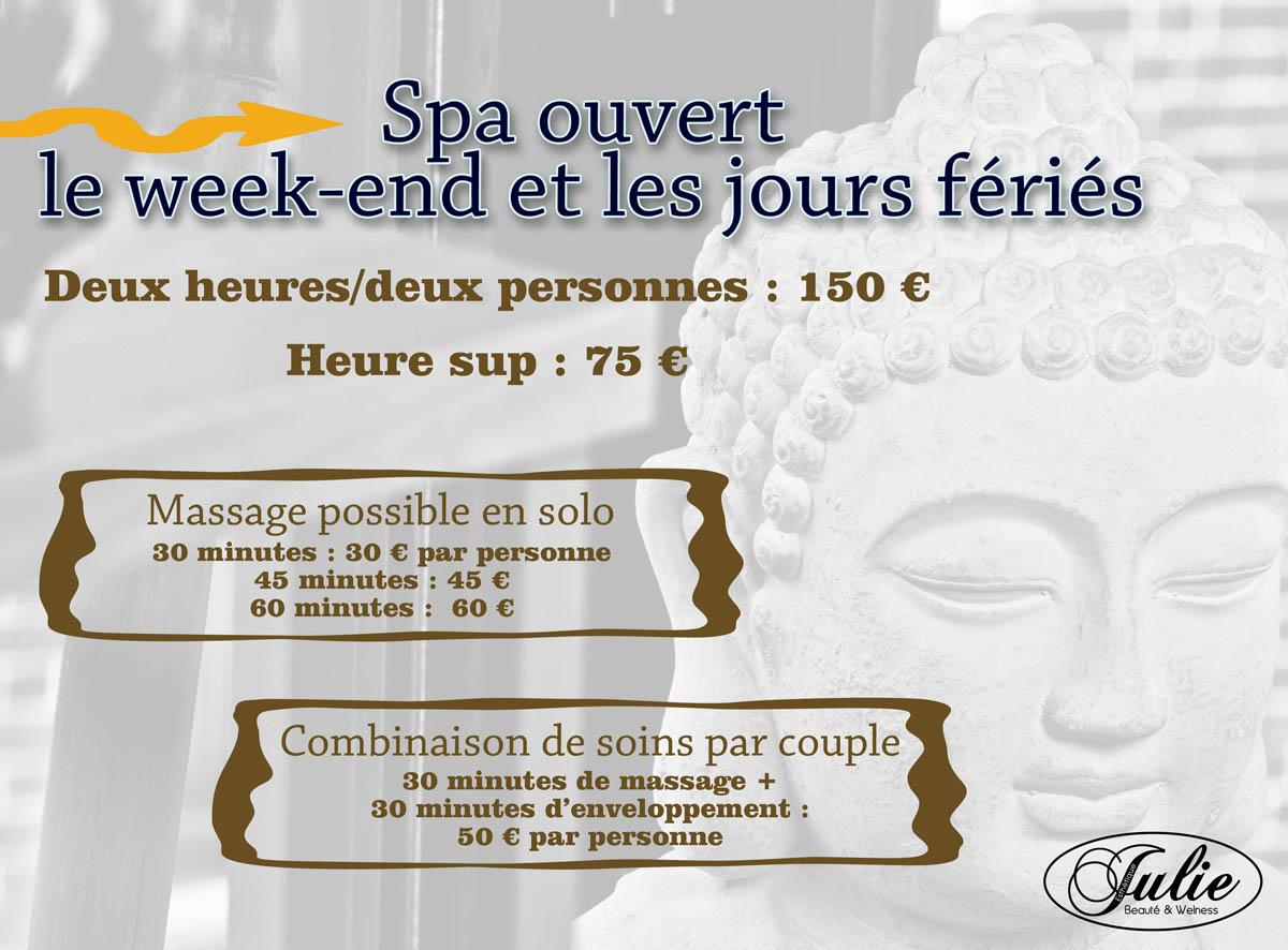 Notre actu esth tique julie mouscron spa et wellness - Salon les charmettes mouscron ...